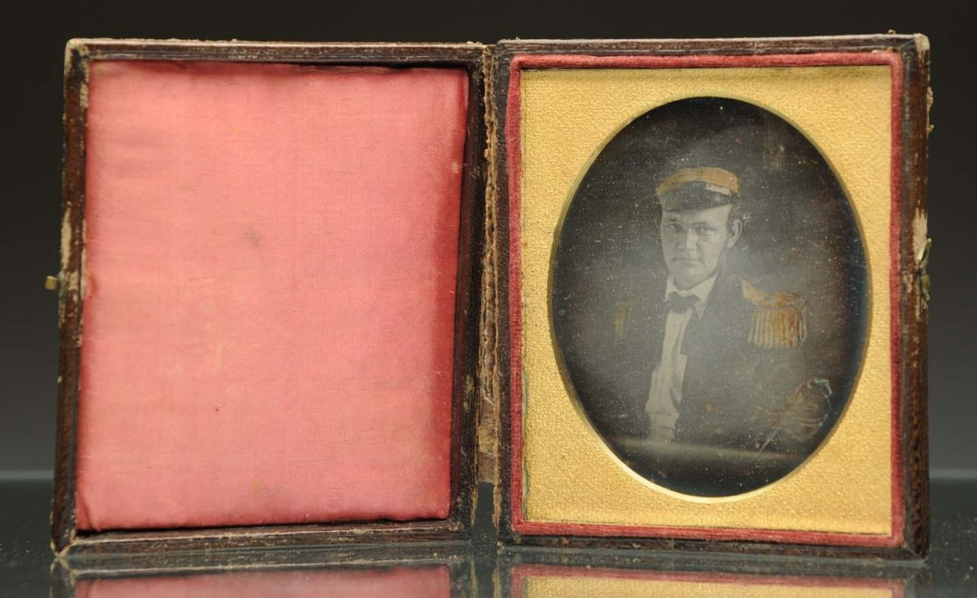 Daguerreotype of Captain.