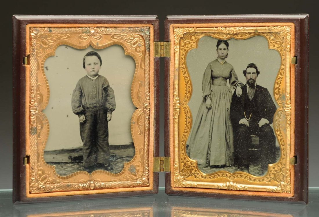 Ambrotype with 2 Images.