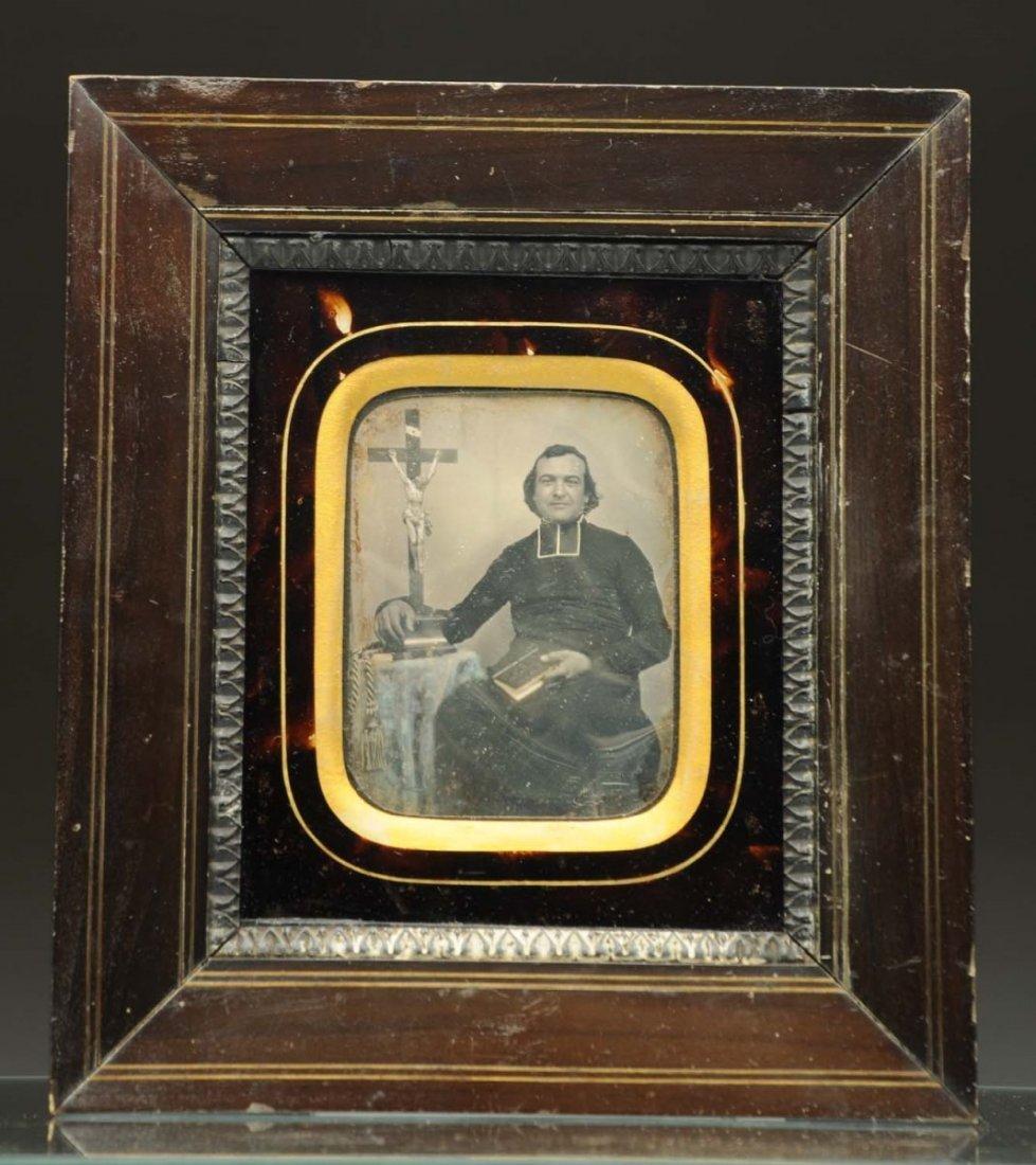 Daguerreotype of Priest.