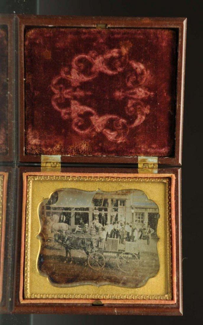 Daguerreotype Case of Washington.