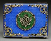 Russian Diamonds  Rubies and Sapphire Card Case