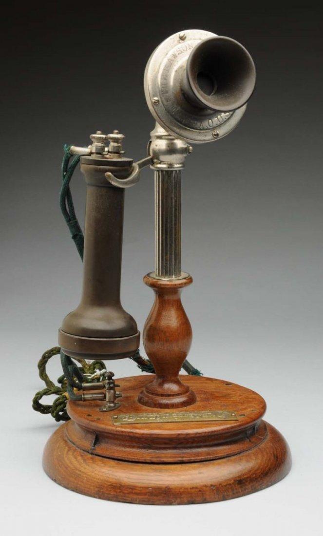 1899 Rawson Electric Co. Potbelly.