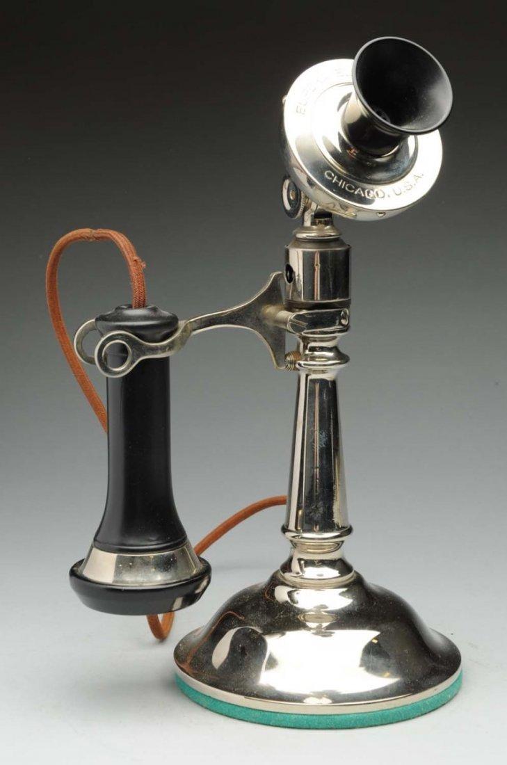 1901 Eureka Electric Co. Tapered Shaft Desk Set.