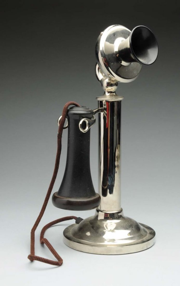 Sterling Electric Co. Candlestick Phone.