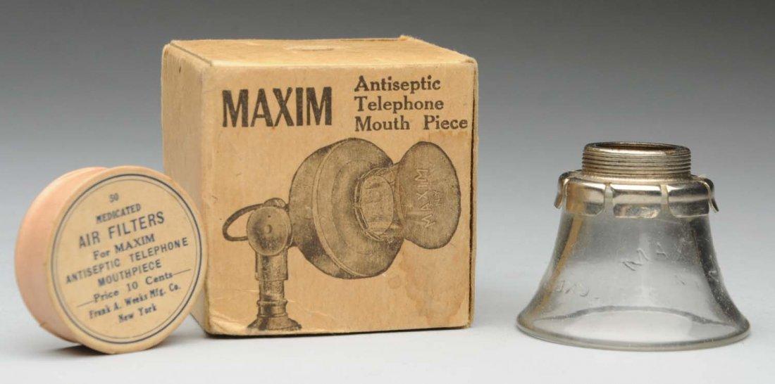 Maxim Glass Mouthpieces.