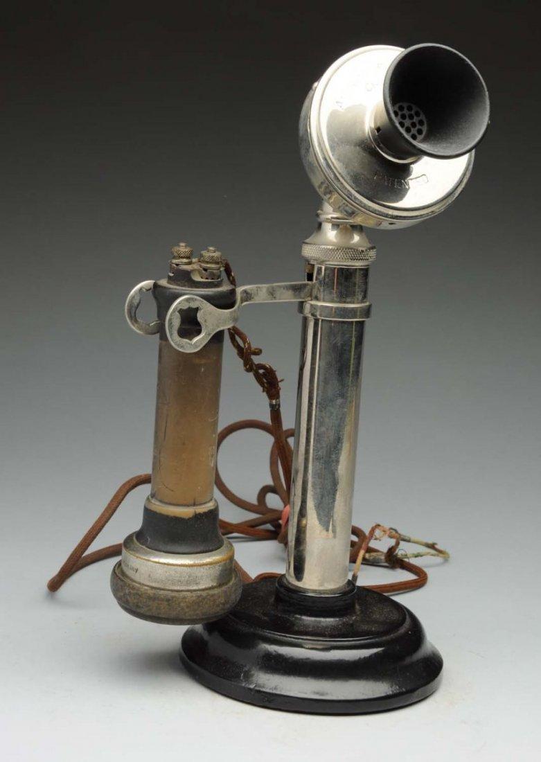 American Electric Telephone Co. Desk Set.