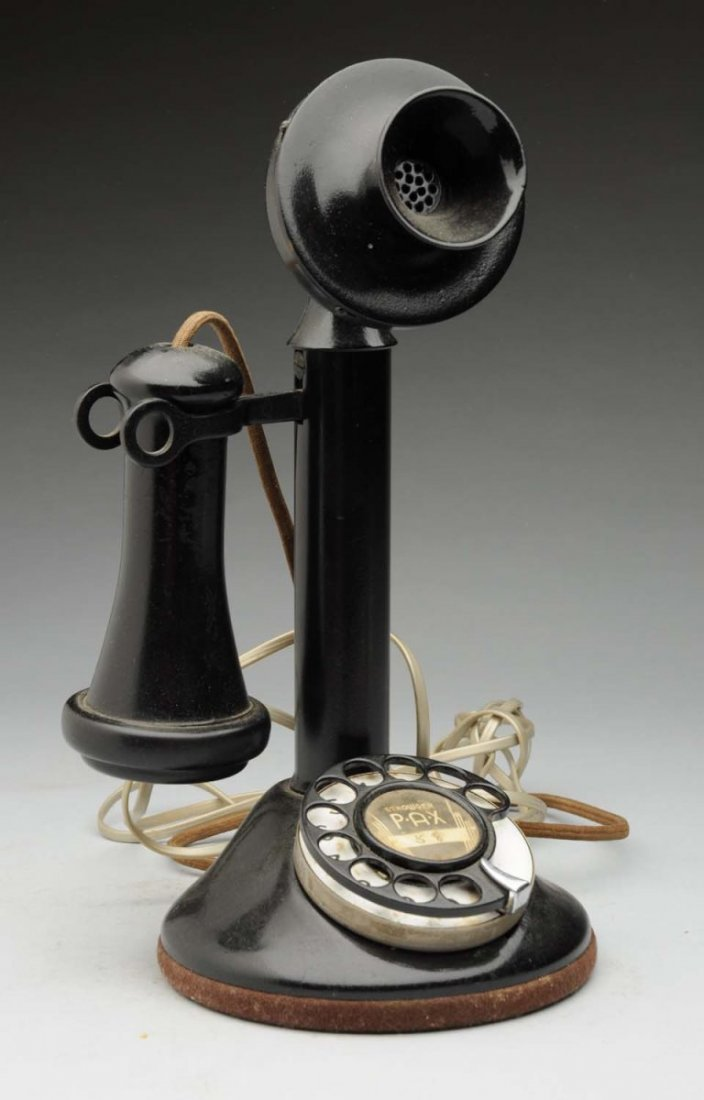 Automatic Electric Dial Candlestick Phone.