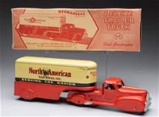 North American Van Lines Deluxe Trailer Truck.