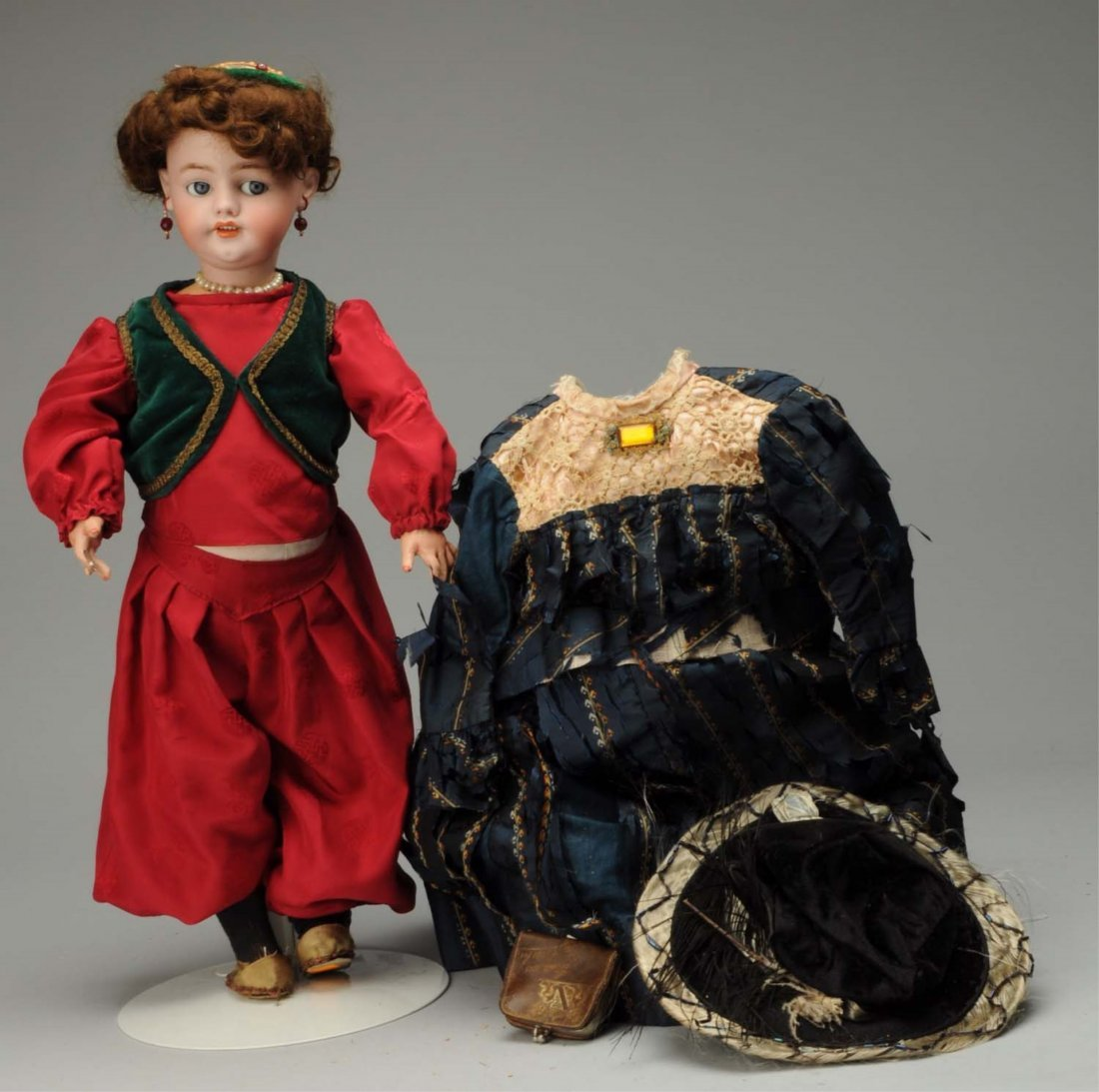 Flirty-Eyed French Walking Doll.