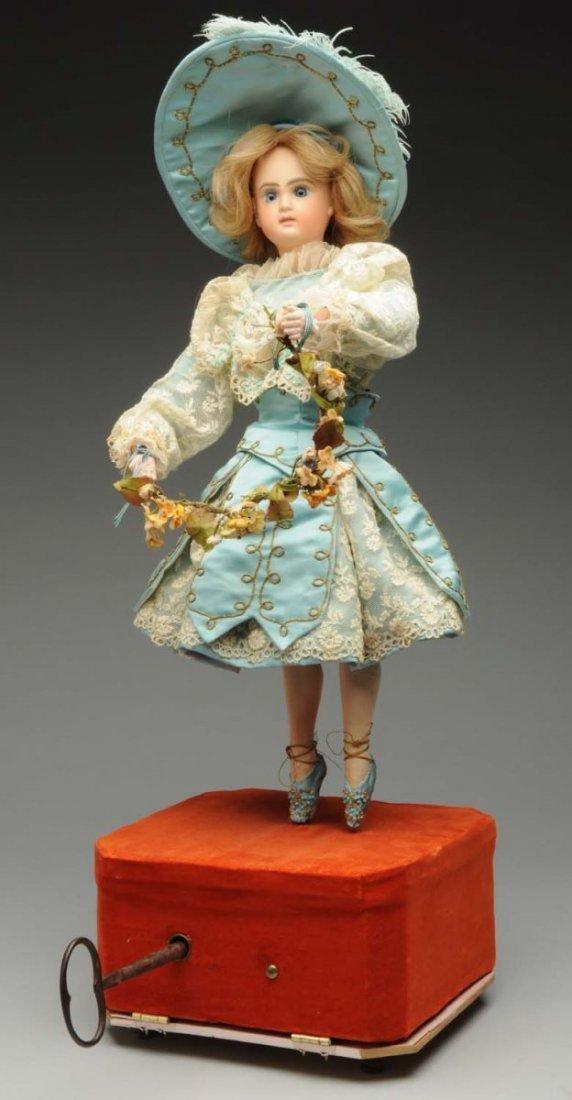 Elegant Mechanical Ballerina Doll.