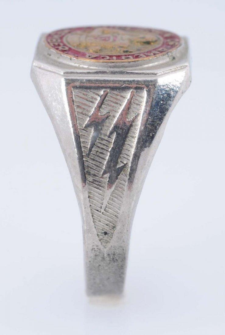 1940 Superman of America Membership Ring. - 3