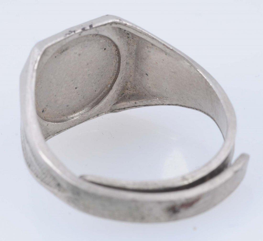1940 Superman of America Membership Ring. - 4