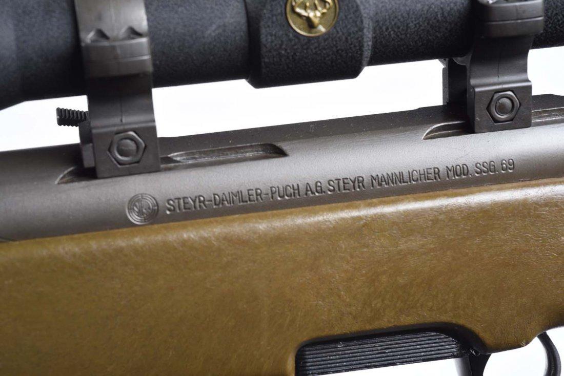 Steyr Mannlicher Model SSG 69 Bolt Action Rifle** - 5