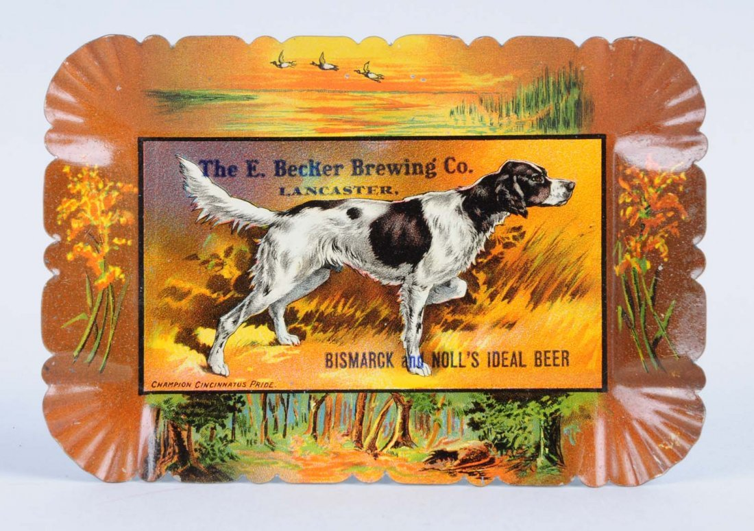 Becker Brewing Co. Tip Tray.