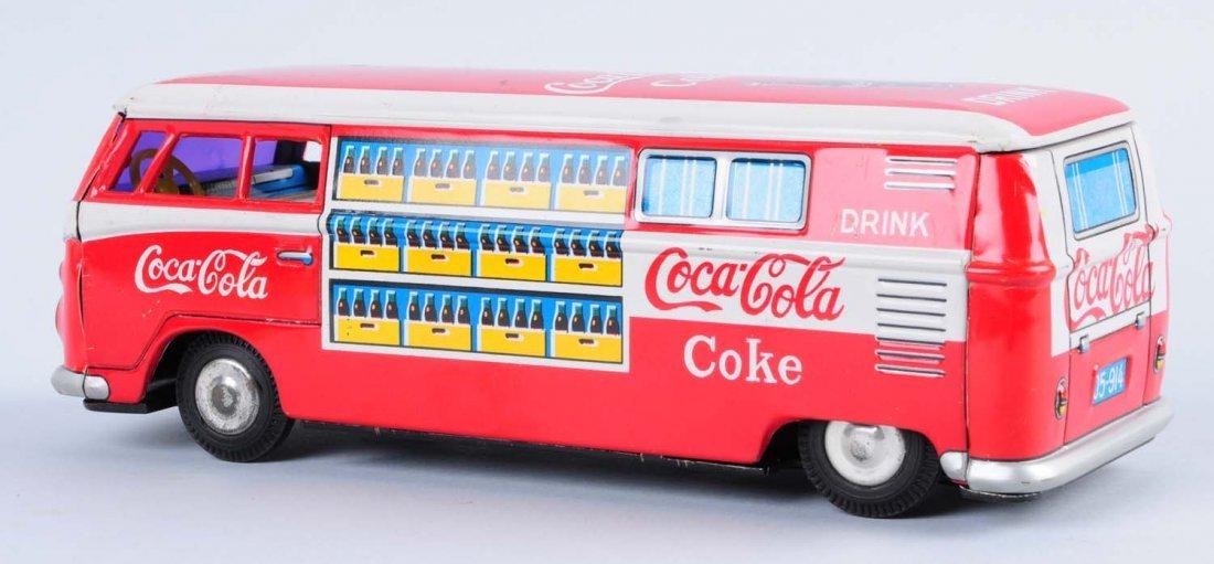 1960s Coca - Cola Volkswagen Bus Toy. - 2