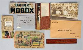 Lot of 8 Assorted Small Advertising Items