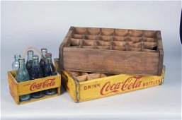 Lot Of 3 Wooden Soda Crates