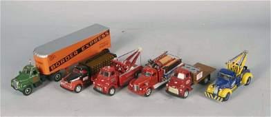 Lot Of 6 First Gear Die-Cast Trucks