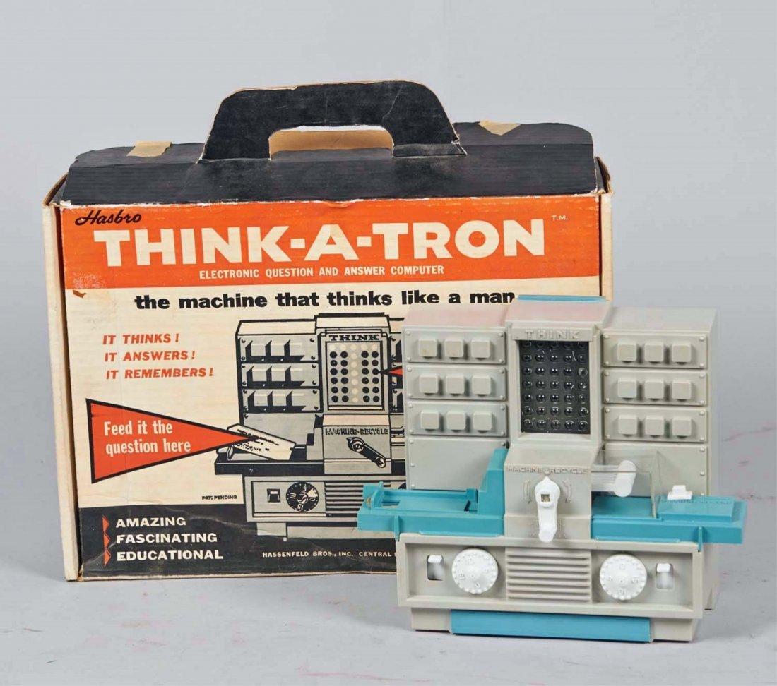 Vintage Hasbro Think-A-Tron Toy Computer