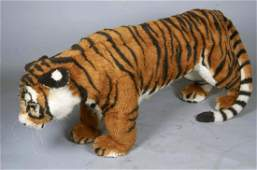 Life Size Steiff Studio Tiger Stuffed Animal