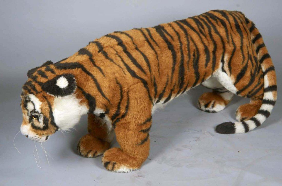 Life Size Steiff Studio Tiger Stuffed Animal