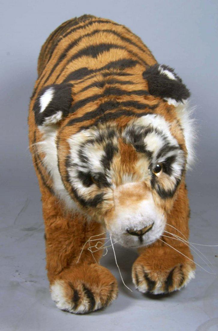 Life Size Steiff Studio Tiger Stuffed Animal - 2
