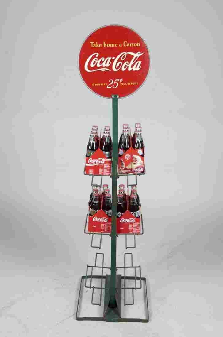 12 Carton Coca Cola Six Pack Display Rack