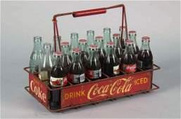 Coca Cola Advertising Vendors Bottle Carrier
