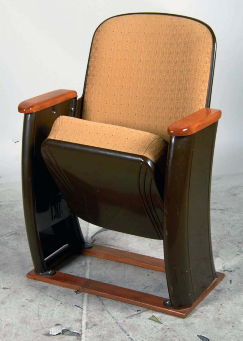 Deco Style Heywood Wakefield Theater Seat - 3