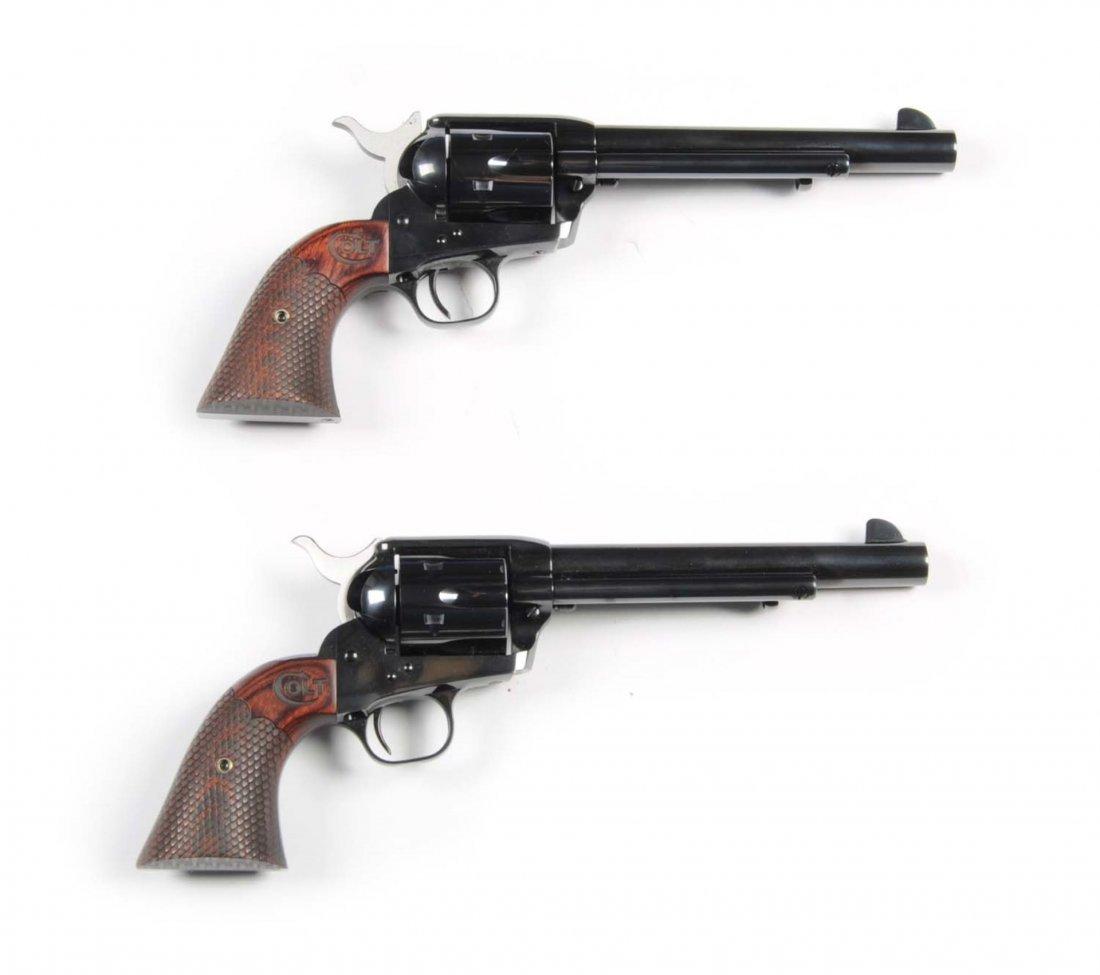 Consecutive Pair Colt SAA Custom Shop Revolvers**