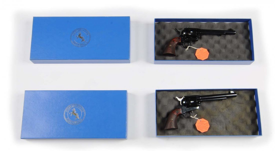 Consecutive Pair Colt SAA Custom Shop Revolvers** - 3