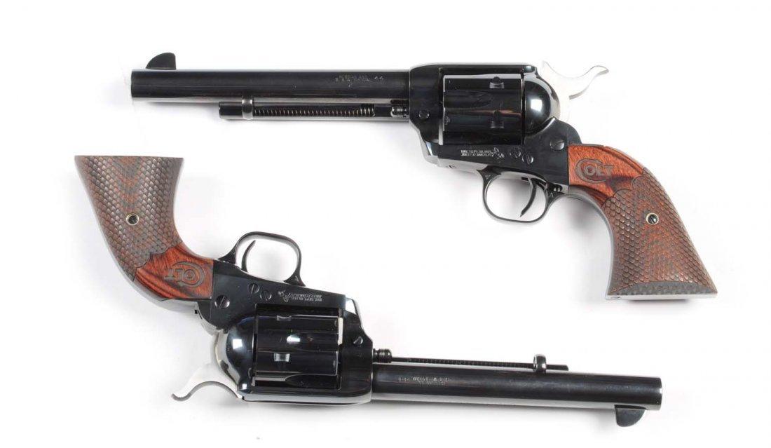 Consecutive Pair Colt SAA Custom Shop Revolvers** - 7