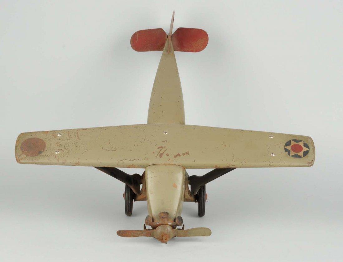 Pressed Steel Boycraft Airplane Toy. - 2