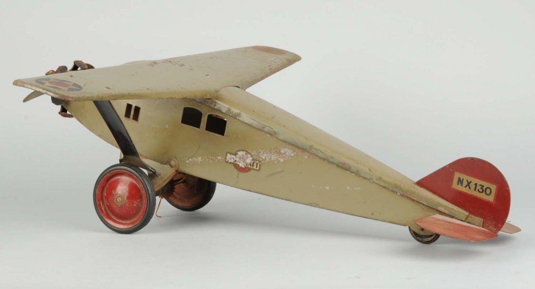 Pressed Steel Boycraft Airplane Toy. - 3