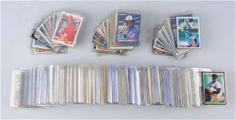 Lot Of Approx 200 1970sPresent Baseball Cards