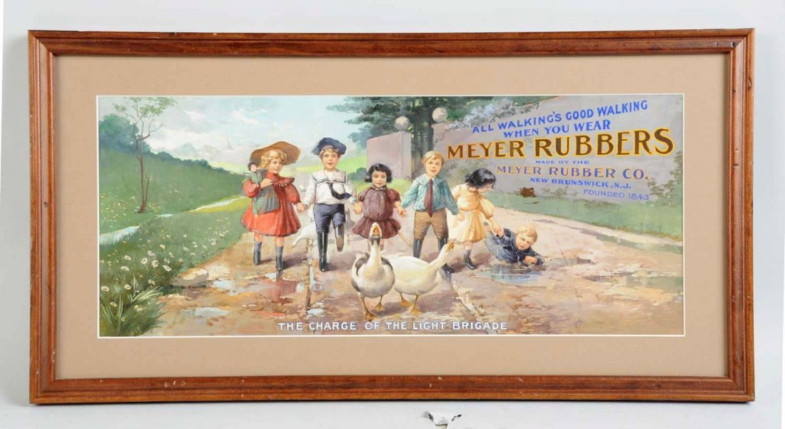 Meyer Rubbers Original Artwork.