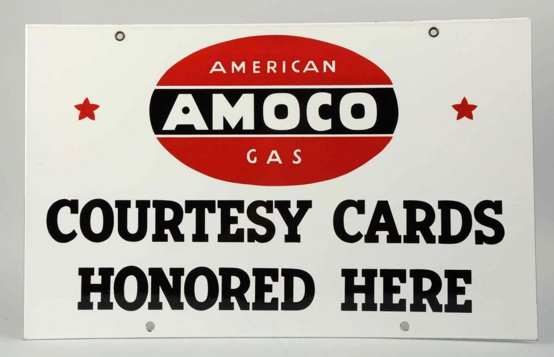 Amaco Gas Two-Sided Sign.