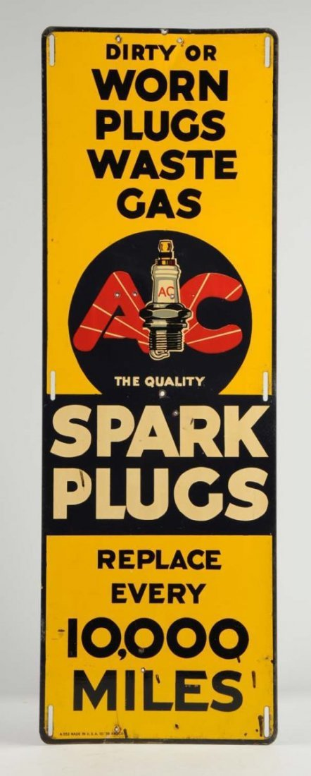 AC Spark Plugs Replace Every 10,000 Miles.
