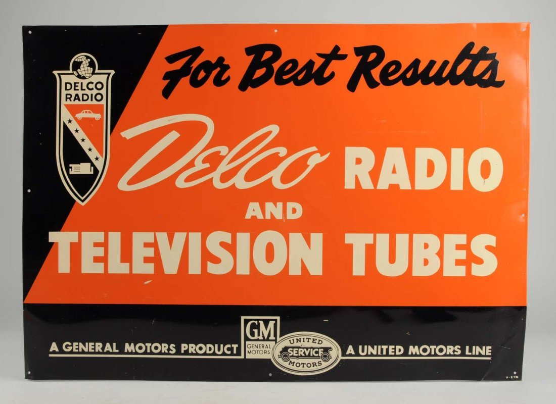 Delco Radio and Television Tubes.