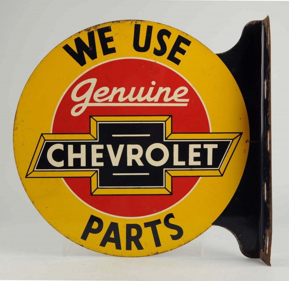 We Use Genuine Chevrolet Parts.