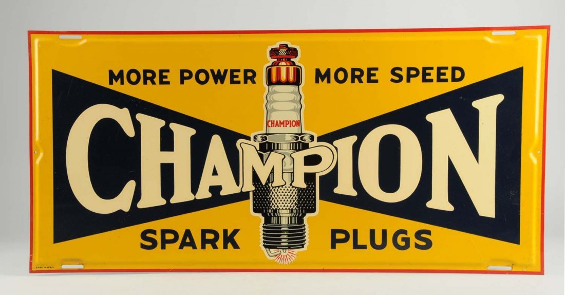 Champion Spark Plugs More Power More Speed.