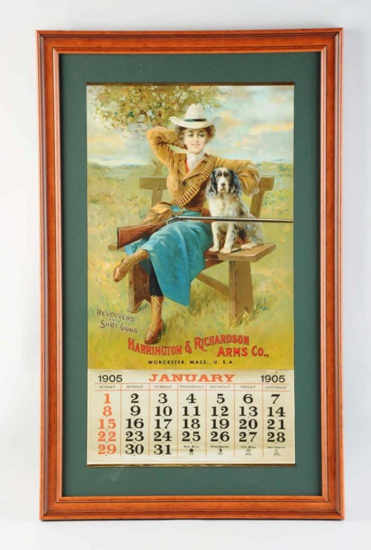 1905 Harrington & Richardson Arms Co. Calendar.