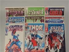 Lot of 9: Marvel Comics Posters.
