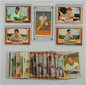 Lot Of 21: 1950's Bowman Baseball Cards