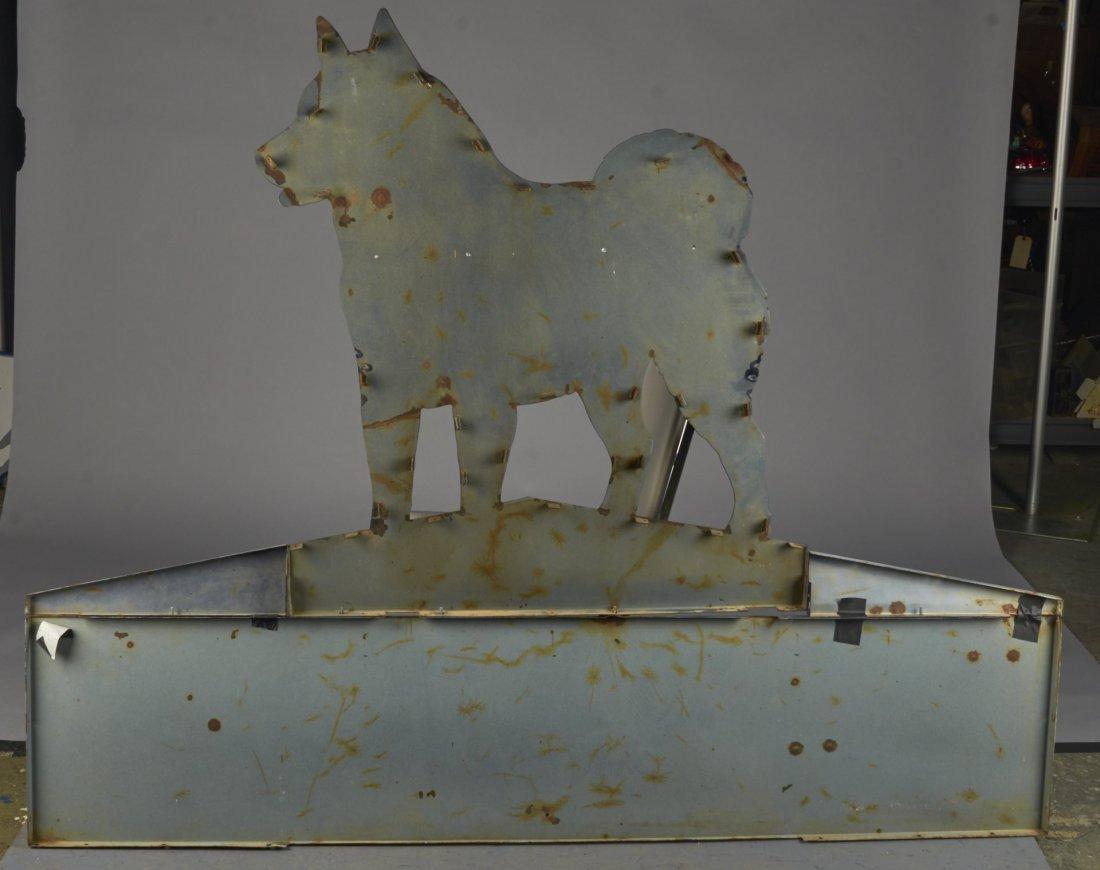 Husky Motor Oil Porcelain Service Station Sign - 2