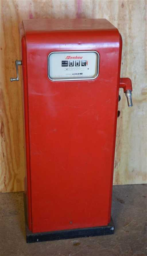 Gasboy Model 100 Commercial Gas Pump