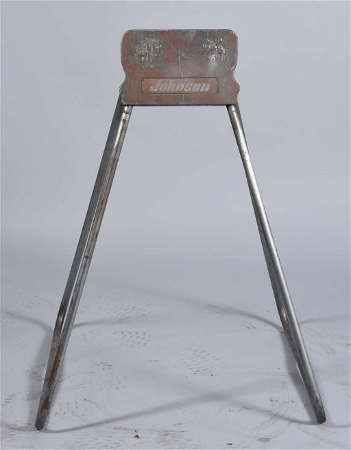 1950s Factory Johnson Outboard Motor Stand
