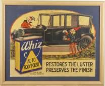 Whiz Auto Body Polish Advertisement In Frame