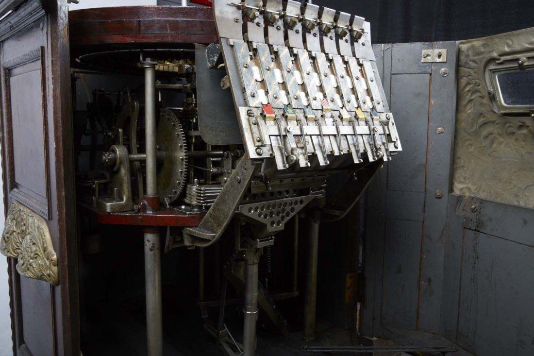 5 ¢ Caille Peerless Floor Roulette Slot Machine - 2