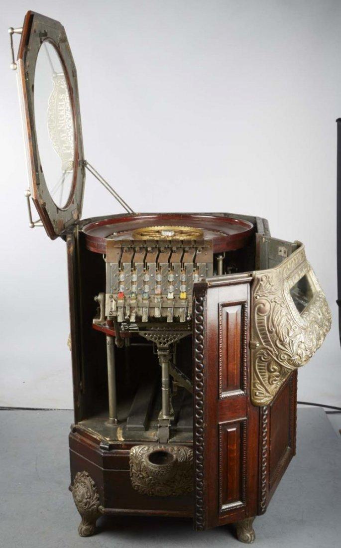 5 ¢ Caille Peerless Floor Roulette Slot Machine - 4